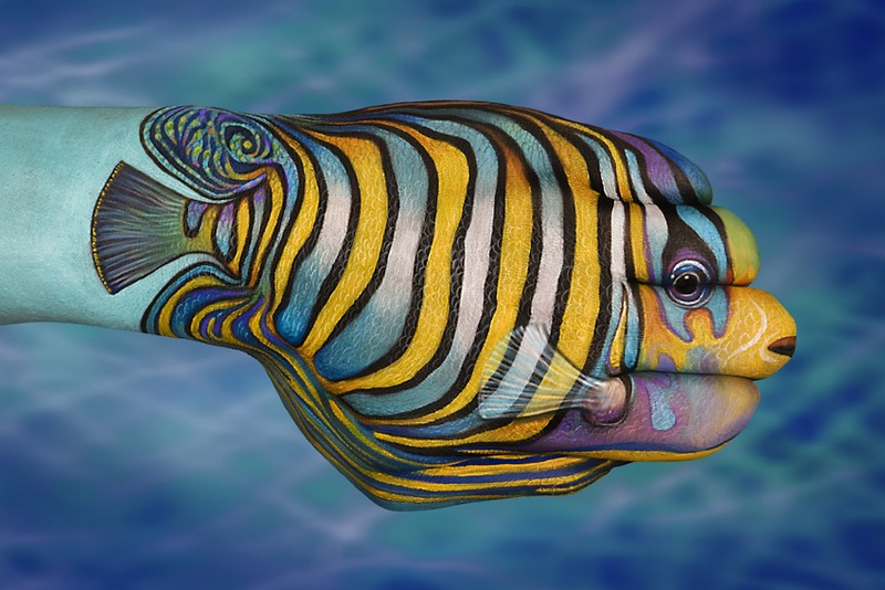 Print for sell fine art for Tropical fish painting