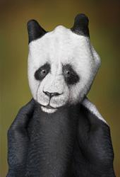 Panda Handpainting