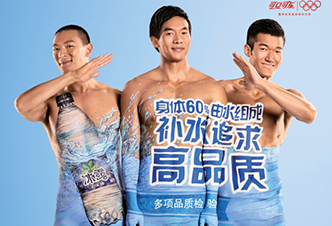 COCA COLA water - China Adv. - 2012