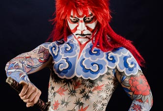 Kabuki warrior - Ph. Guido Daniele