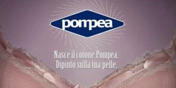 Body painting for Spot POMPEA underwear - 2008 - Director : Federico Brugia