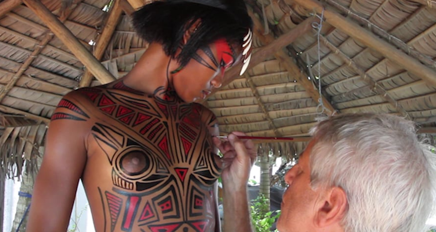 Body Painting Nosy Be - Filmed by Mario Forges Davanzati - 2015