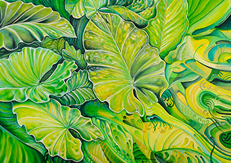 Oil Painting on Canvas - Tropical Fantasy